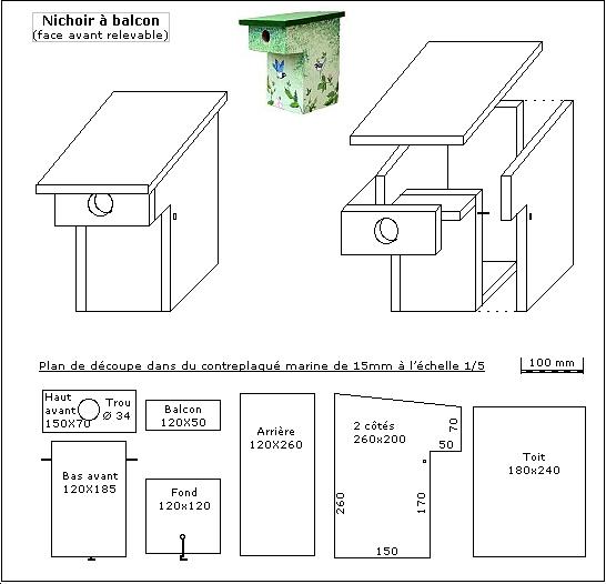 plans de nichoirs et mangeoires. Black Bedroom Furniture Sets. Home Design Ideas
